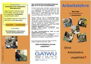 Arbeitslehre Flyer 2