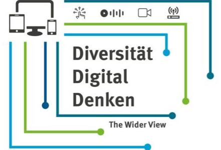 """Tagungsankündigung """"Diversität Digital Denken"""""""